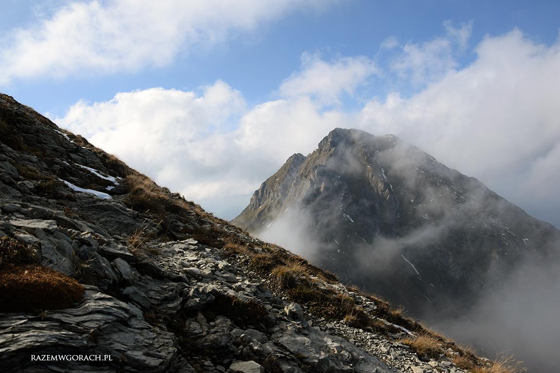 Złota jesień wgórach. Tatry Bielskie wjeden dzień.