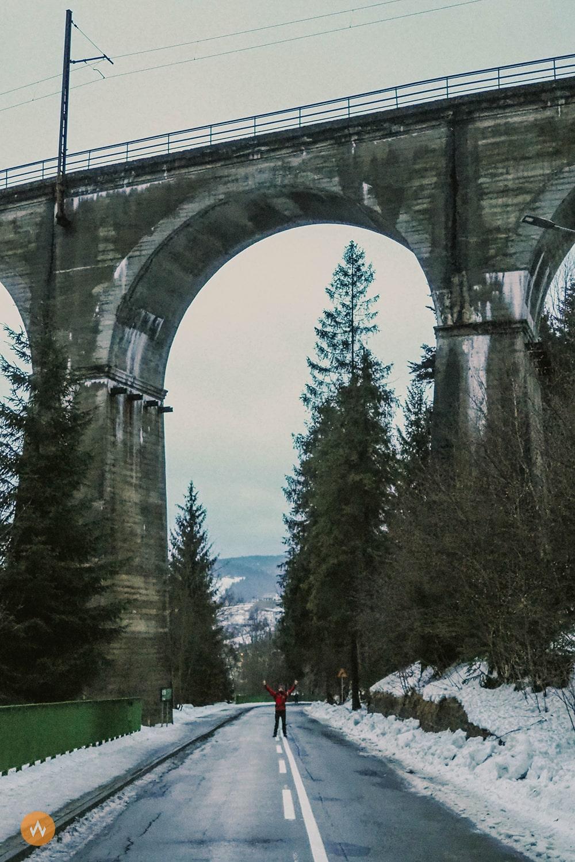most wisła głębce
